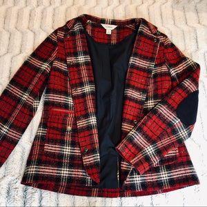 L.L. Bean Plaid Coat ❤️
